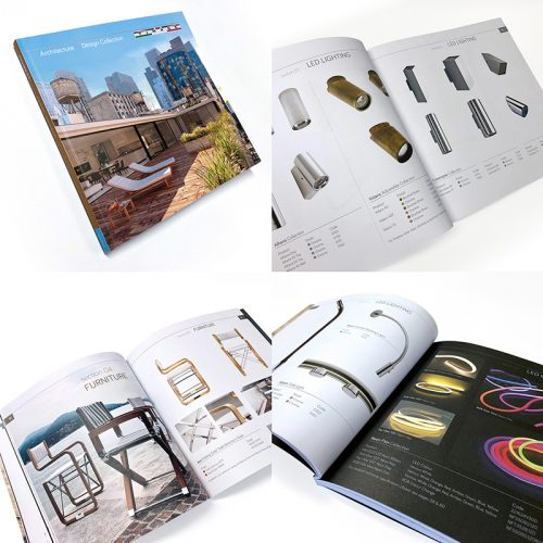 Timage product brochure design