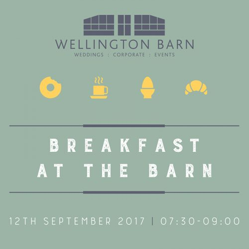 wellington barn wiltshire graphic design