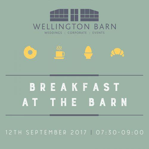 wellington barn wiltshire graphic design