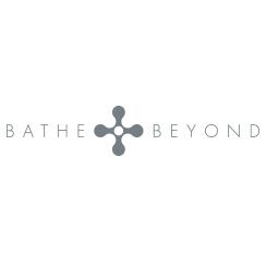 bathe and beyond logo design