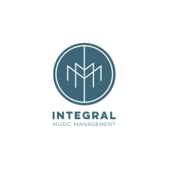 integral music management logo design