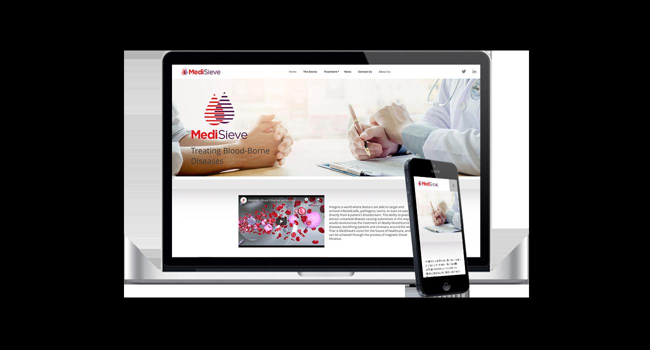 medisieve web design agency