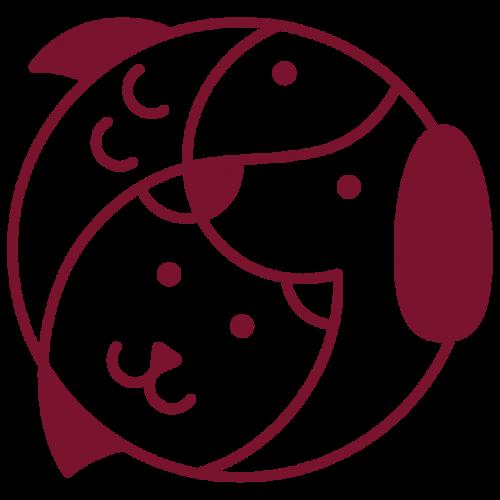 amesbury pets logo design