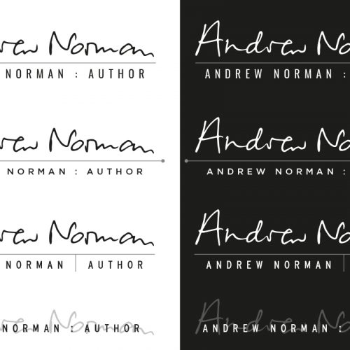 andrew norman logo design