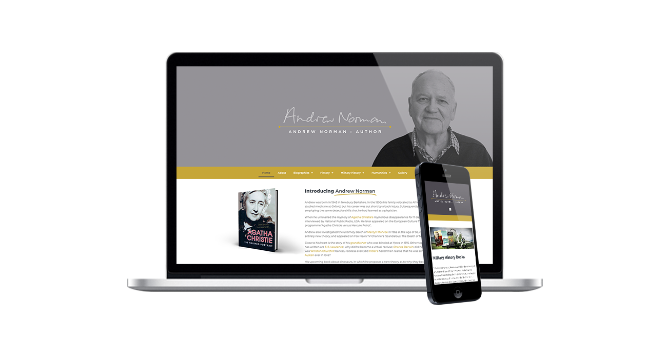 andrew norman web design