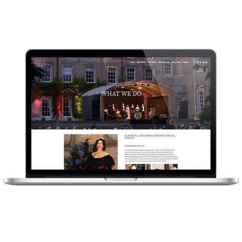 london festival opera web design agency