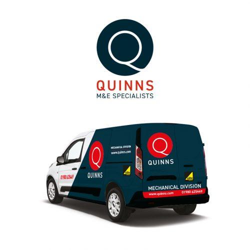 quinns salisbury brand identity agency