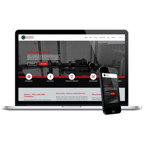 quinns salisbury web design agency