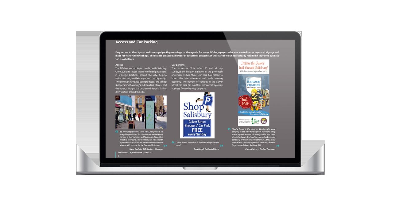salisbury bid web design
