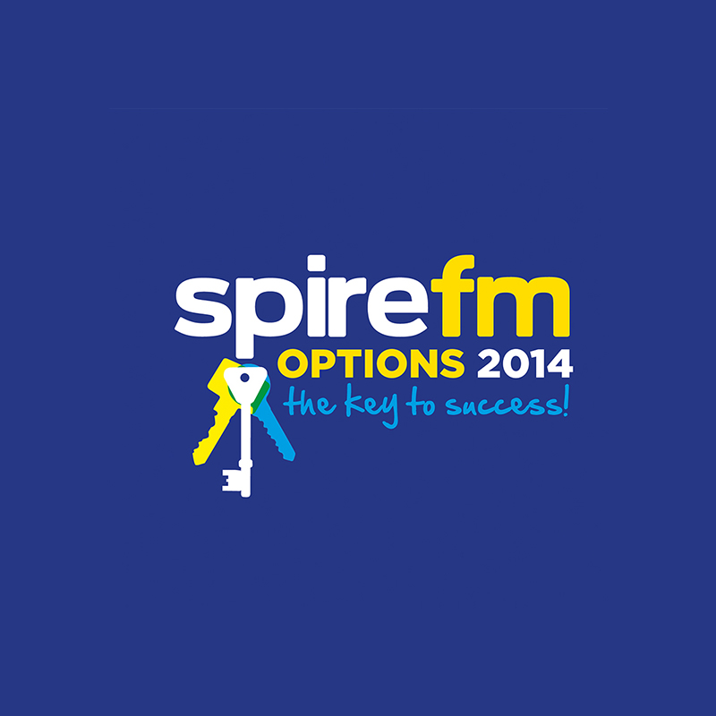 spire fm salisbury graphic design