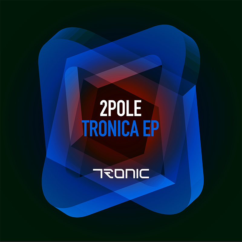 Tronic techno label design