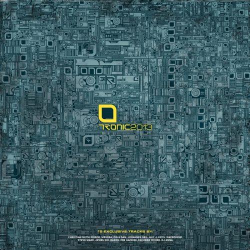 tronic techno label graphic design