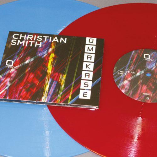 techno label design