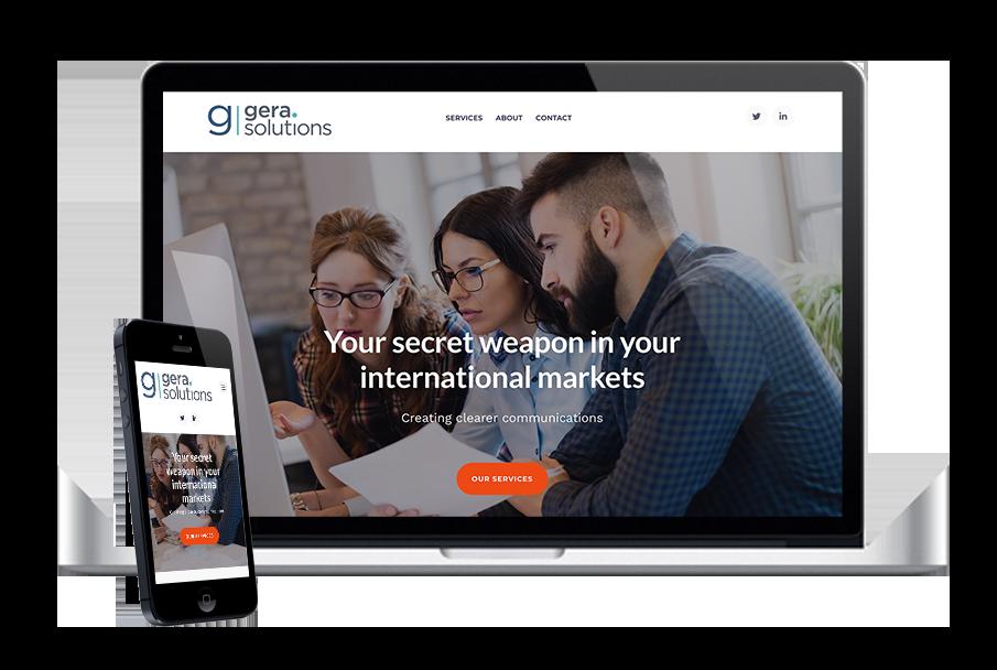 Website design Gera Solutions